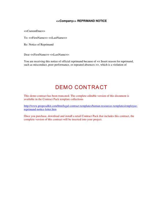 Employee reprimand template sonundrobin employee reprimand template thecheapjerseys Images