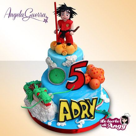 Birthday Cakes Goku Children