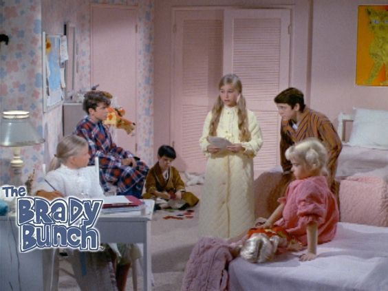 The Brady Bunch TV Show  1st season letter in the paper to dear libby- Bing Images: