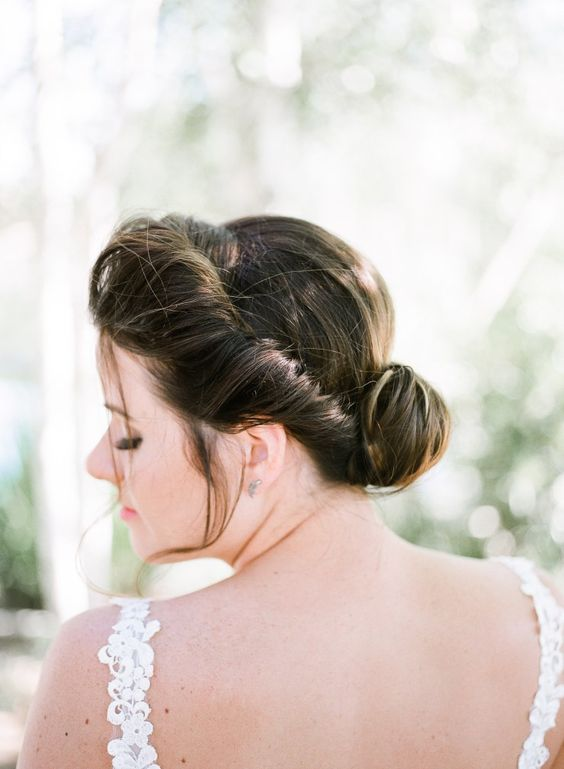 Wedding Hairstyle Inspiration | Film Photography by MeghanElise Photography