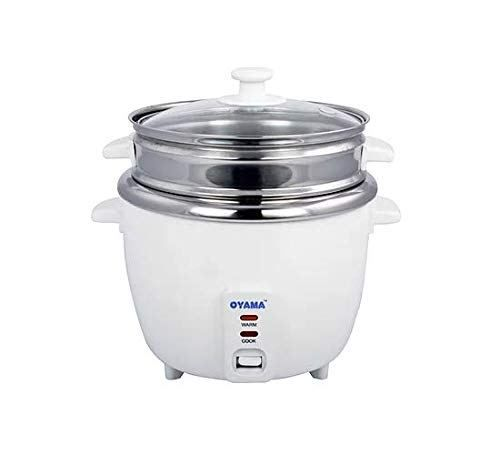 Oyama Stainless 16 Cup Cooked 8 Cup Uncooked Rice Cooker