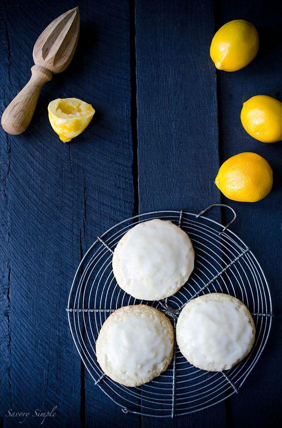 Glazed Meyer Lemon Cookies | Recipe | Lemon Cookies, Lemon and Cookies