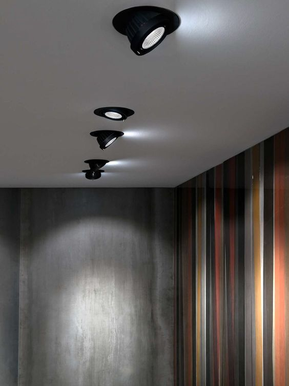 Spot encastrable au plafond / halogène / à LED / DHI BEX by Lapo Grassellini & Stepan Babian MARTINI Illuminazione
