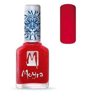 COMING SOON Moyra Stamping Nail Polish- No. 02 (Red)