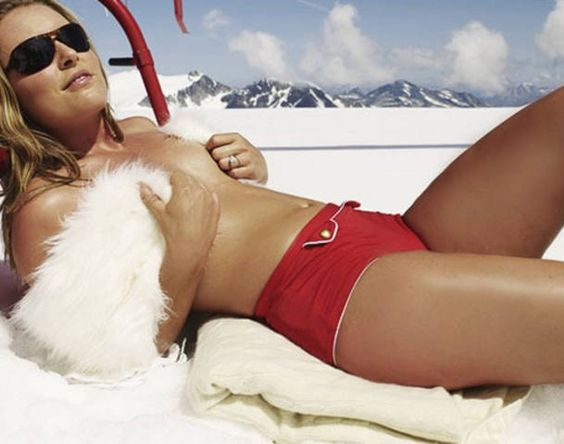 Lindsey vonn hot lindsey vonn s surgically repaired right knee looks