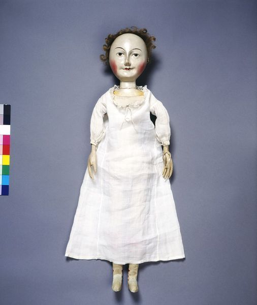 Lady Clapham (Doll) Place of origin: London, England (made) Date: 1690-1700 (made) Materials and Techniques: Hand-sewn lawn, linen and trimmed with bobbin lace