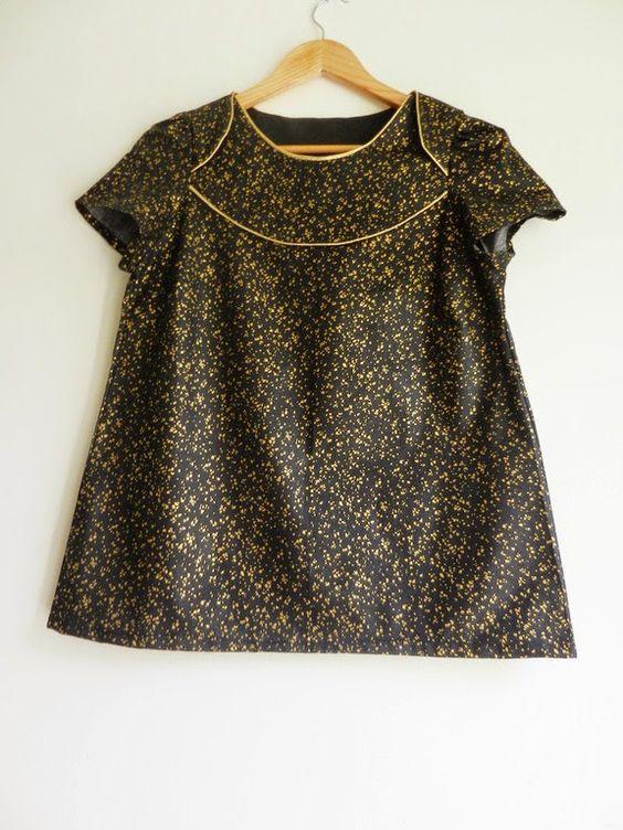 blouse la blonde - ZowieZo Handmade