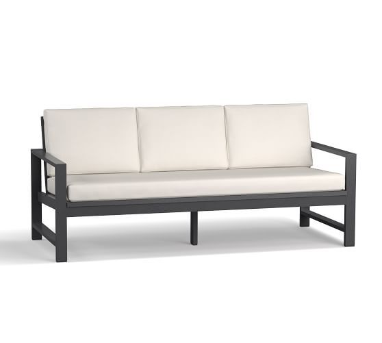 Indio Metal 72 5 Quot Sofa Slate Furniture Sofa Set Metal Sofa Discount Outdoor Furniture