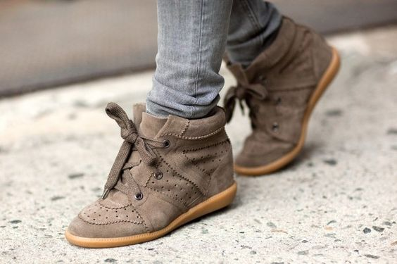 The wedge sneakers that started it all. Click to shop Isabel Marant shoes now.
