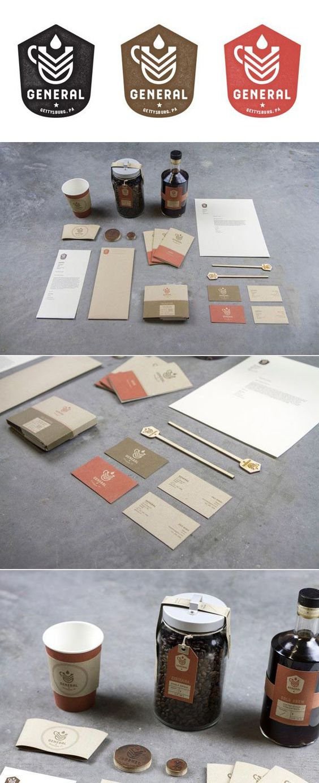 identity / General Cafe | Branding | Pinterest