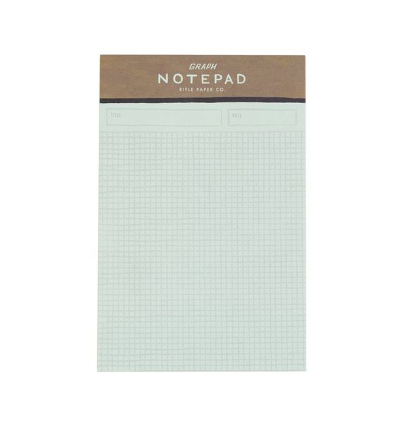 Graph Paper Notepad  Graph Paper And Gift