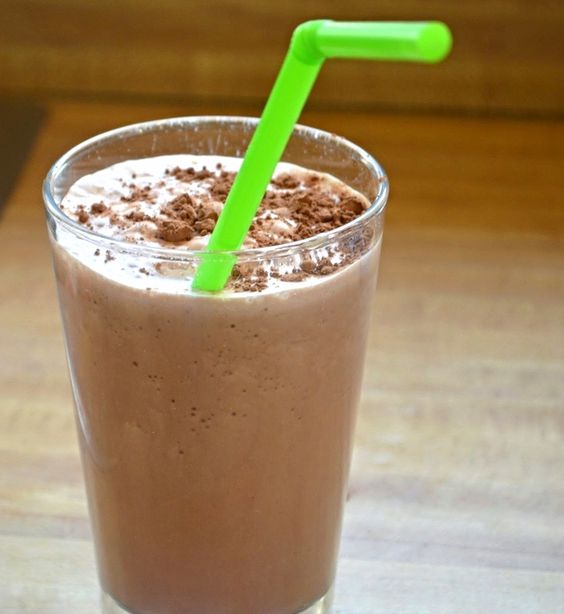 Skinny Frozen Hot Chocolate | Frozen Hot Chocolate, Hot Chocolate and ...