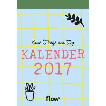 FLOW Abreißkalender 2017