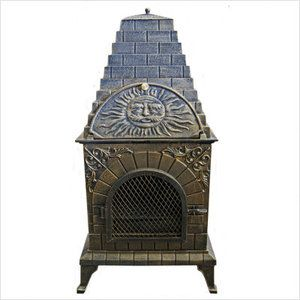 Deeco Aztec Allure Pizza Oven Outdoor Fireplace Ovens