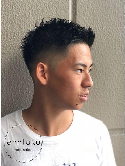 Go スキンフェード刈り上げスタイル Enntaku L029907075