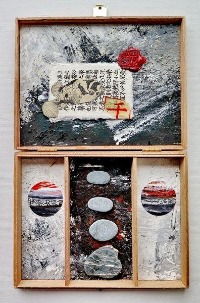 mano kellner, kunstschachtel / art box nr 7/2016, zen fisch