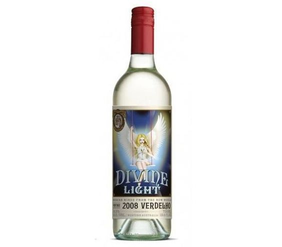 Divine Light | 'Otras 101 etiquetas de botellas de vino... (2ª parte)' by @Recetum