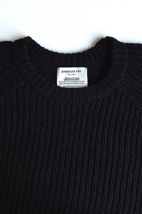 Long Sweater - Jet   Emerson Fry