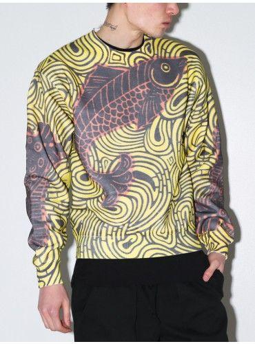 TPN koi print sweatshirt