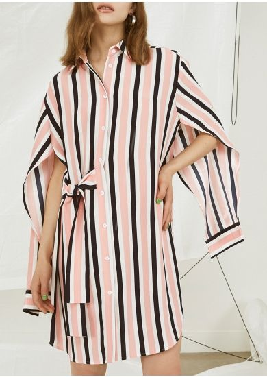 Kitri Katy striped shirt dress - Harvey Nichols