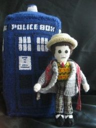Doctor Who knitting patterns