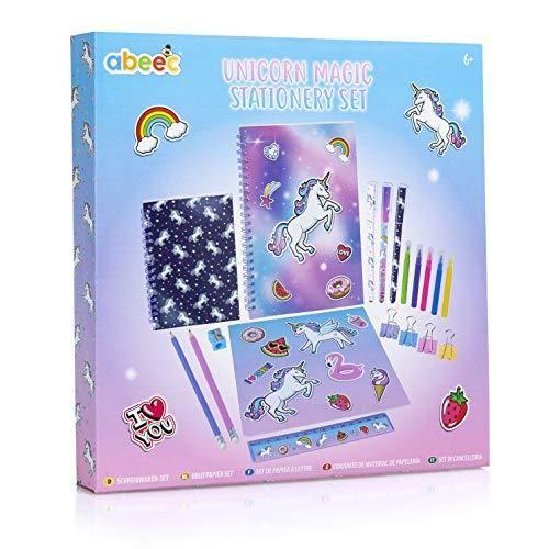 Unicorn Stationery Set For Girls School Supplies For Kids In 2020 Kids School Supplies Stationery Set Girl School Supplies