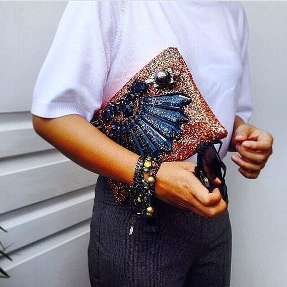 """""""Perfect outfit for a Monday at the office. #ootd #mawi #mawilondon #thecools #sparkle #clutch #backtowork"""""""