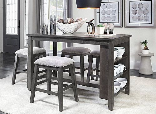 Napa Counter Height 5 Pc Dining Set In 2020 Dinning Room Decor