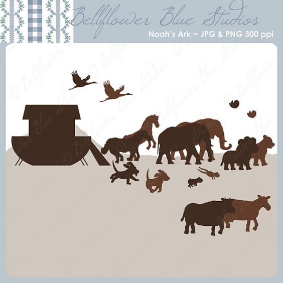 Brown, Noah Ark And Silhouette On Pinterest