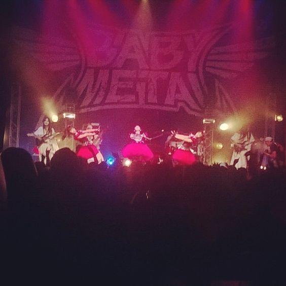 """BABYMETAL WORLD TOUR 2014 """"LEGEND Y""""  La Cigale Paris,France 1,July,2014"""