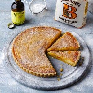 Welsh Amber Pudding: flour, butter, 6 eggs, golden caster sugar, lemon extract, grapefruit marmalade,