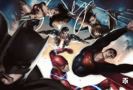 Liga da Justiça: Artista recria icônica arte de Alex Ross com os membros da nova formação