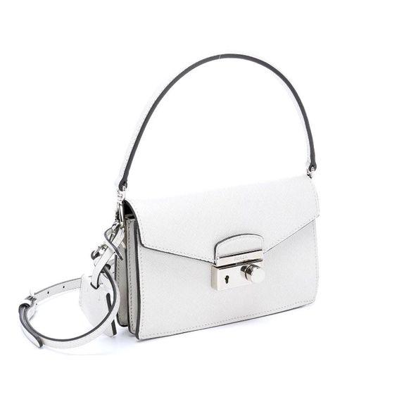 prada studded mini sound shoulder bag