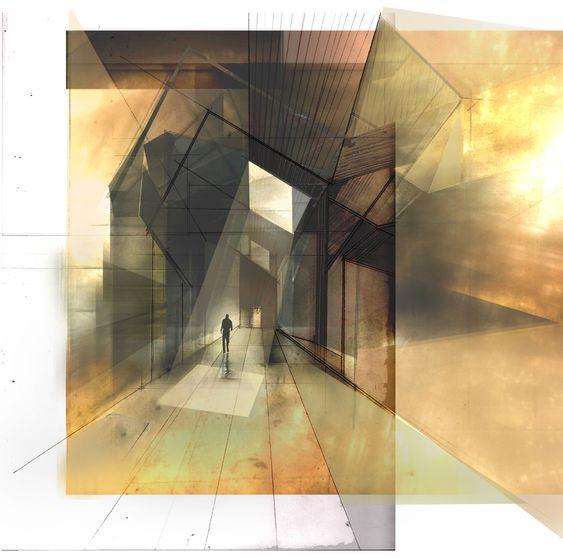 Metamorphosis inspiration 'Light and Materiality' David Zawko. 2011. Mixed Media.