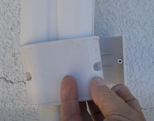 How To Install A Wall Cover Kit For A Mini Split Line Set And Wiring Hvac How To I 2020