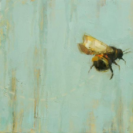 flight: Art Aw, Painting Insects, Heart Bees, Bumble Bee Art, Bumblebee Art, Art Angie, Bumble Bees, Bee Painting
