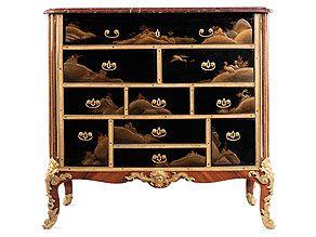 Außergewöhnliche, elegante Kabinett-Kommode
