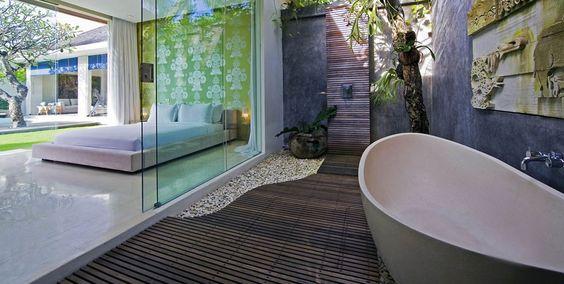 CHANDRA BALI VILLA - super trendy designer Villa in Seminyak/ Bali #LuxuryHouses