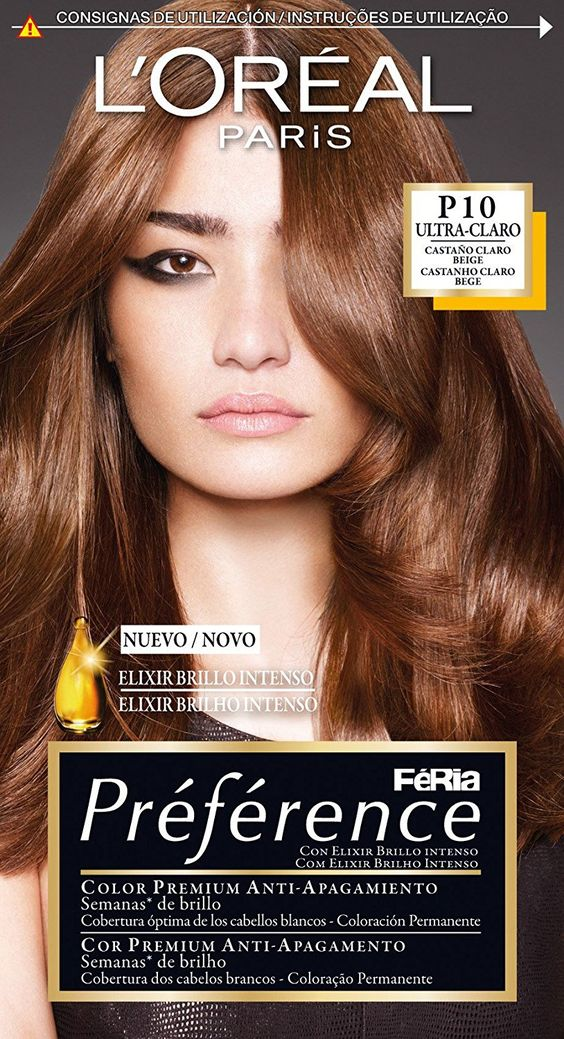 loreal coloration prfrence feria p10_chatain clair want additional info - Coloration L Oreal Blond