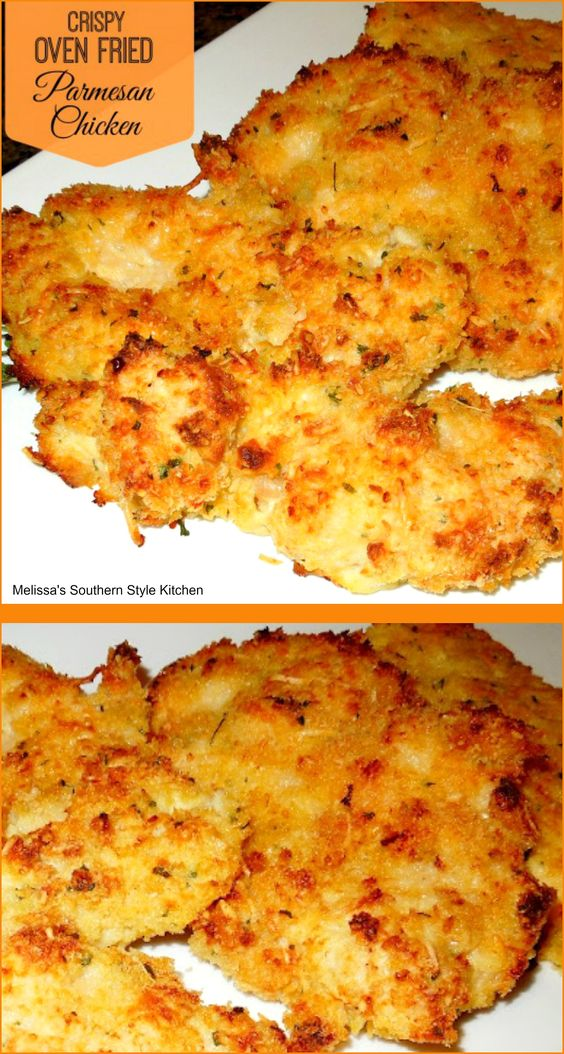 Crispy Oven Fried Parmesan Chicken | Recipe | Ovens, 'salem's lot and...