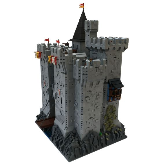 Daniel Cure The Official Authors Blog Lego Castle Moc 2018