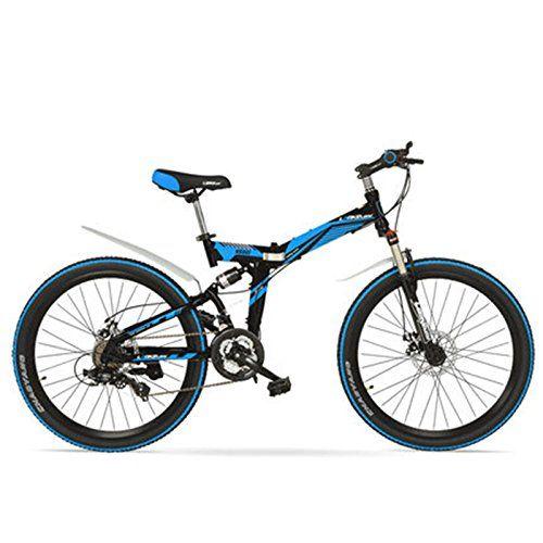 Lankeleisi K660m 24 26 Inch Folding Mtb Bike 21 Speed Folding