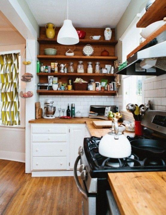 Idéias Cozinha pequena criativas