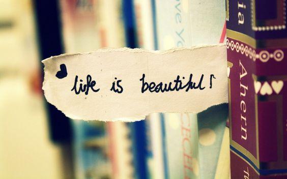 Výsledok vyhľadávania obrázkov pre dopyt life is beautiful