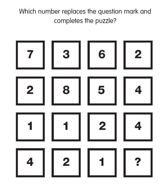 how to solve missing number puzzles