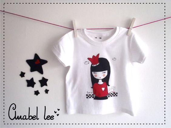 Camiseta Alicia para niña: 15 euros