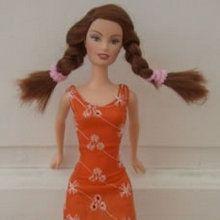 plusieurs patrons faciles pour poupée barbie