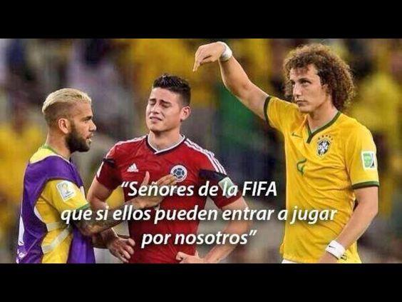Mi selección Colombia,hubiera sido tu jugando contra Alemania! Porque nos robaron el partido contra Brasil! Pero bueno,ay que seguir luchando, y estamos todos muy orgulloso de ti por hacer historia en el mundial Brasil 2014!los amo!