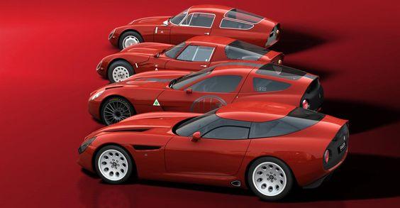 Alfa Romeo TZ evolution