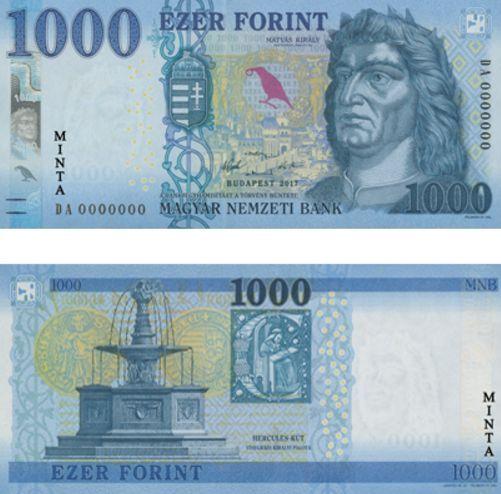 Bald Kommen Die Neuen 1 000 Forint Scheine Und So Tauschen Sie Ganz Alte Scheine Noch Um Scheine Neue Wege Geld